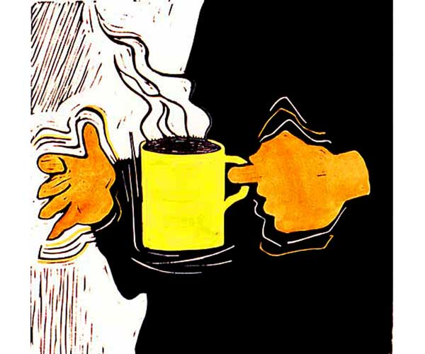 First Cup of the Morning, by Alan LaMont